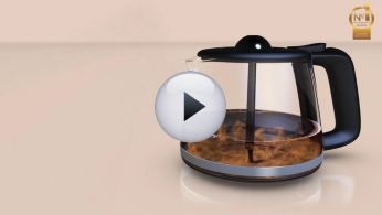 Aroma twister circulates the coffee for an optimal taste