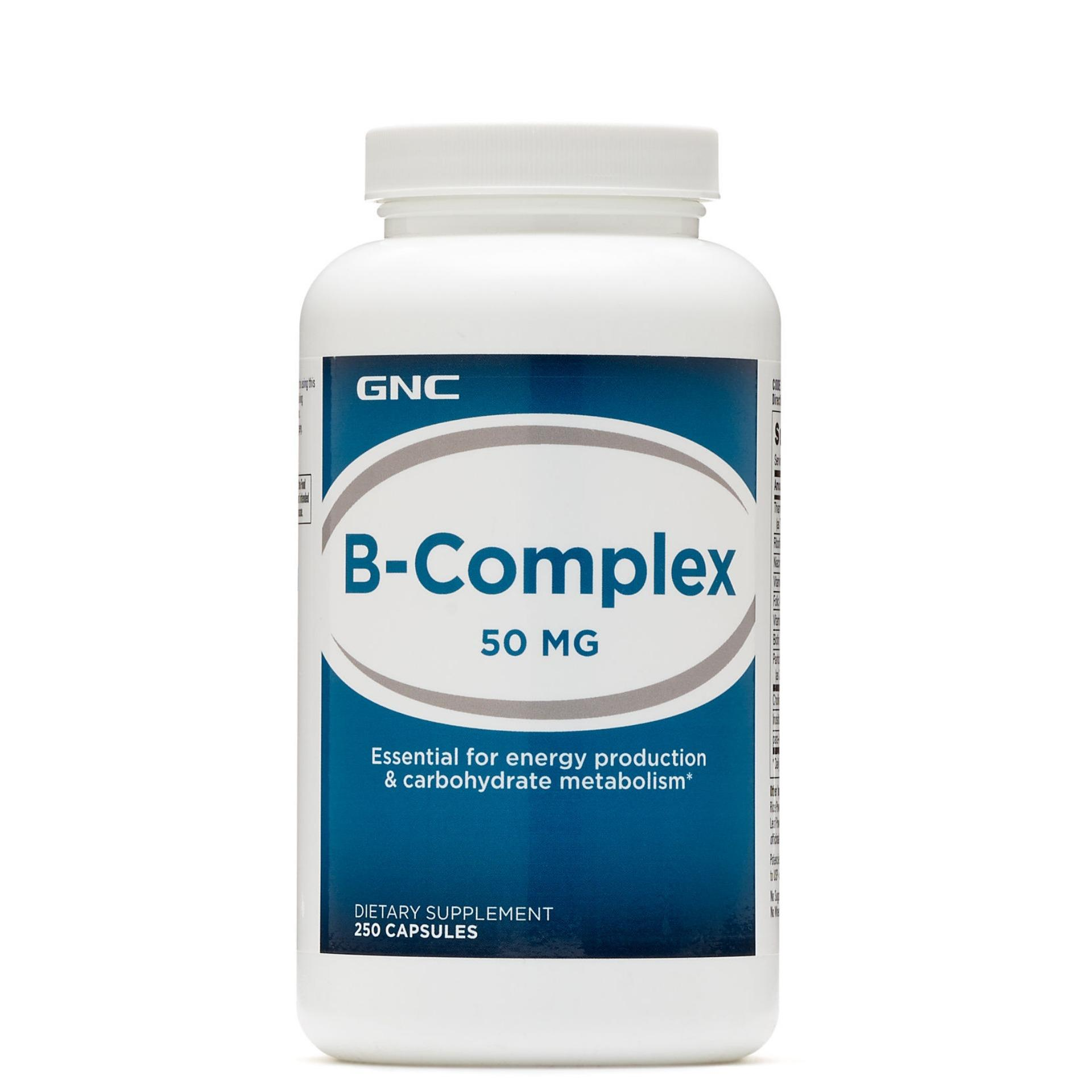 Where Can You Buy Gnc B Complex 50 Mg 250 Capsules