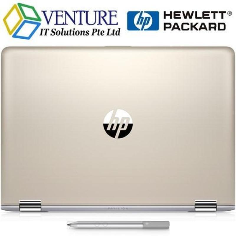 [NEW 8TH GEN] HP PAVILION x360 CONVERTIBLE 14 BA109TX I7-8550U 8GB 128SSD+1TB NVIDIA-940MX-4GB 14.0FHD-IPS WIN10