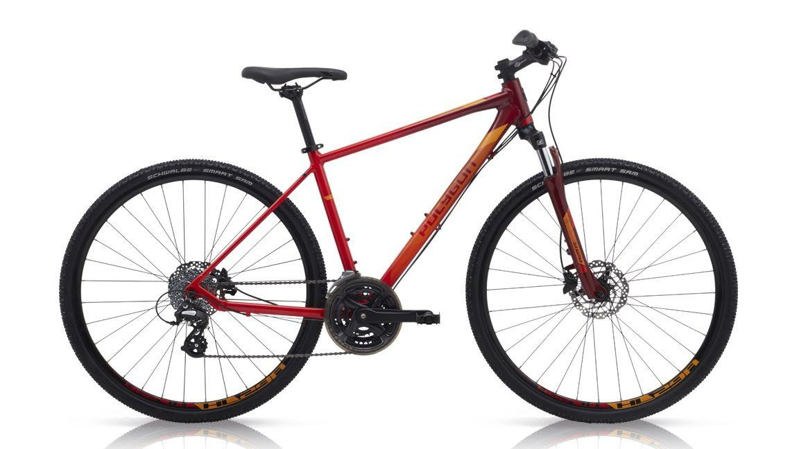 Polygon Heist 2 700c Gent Hybrid Bike - Red Size 53 By Rodalink.