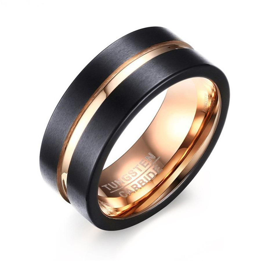 Fashion Tungsten Ring Wedding Bands 8Mm Tungsten Carbide Rings For Men Intl Oem Cheap On China