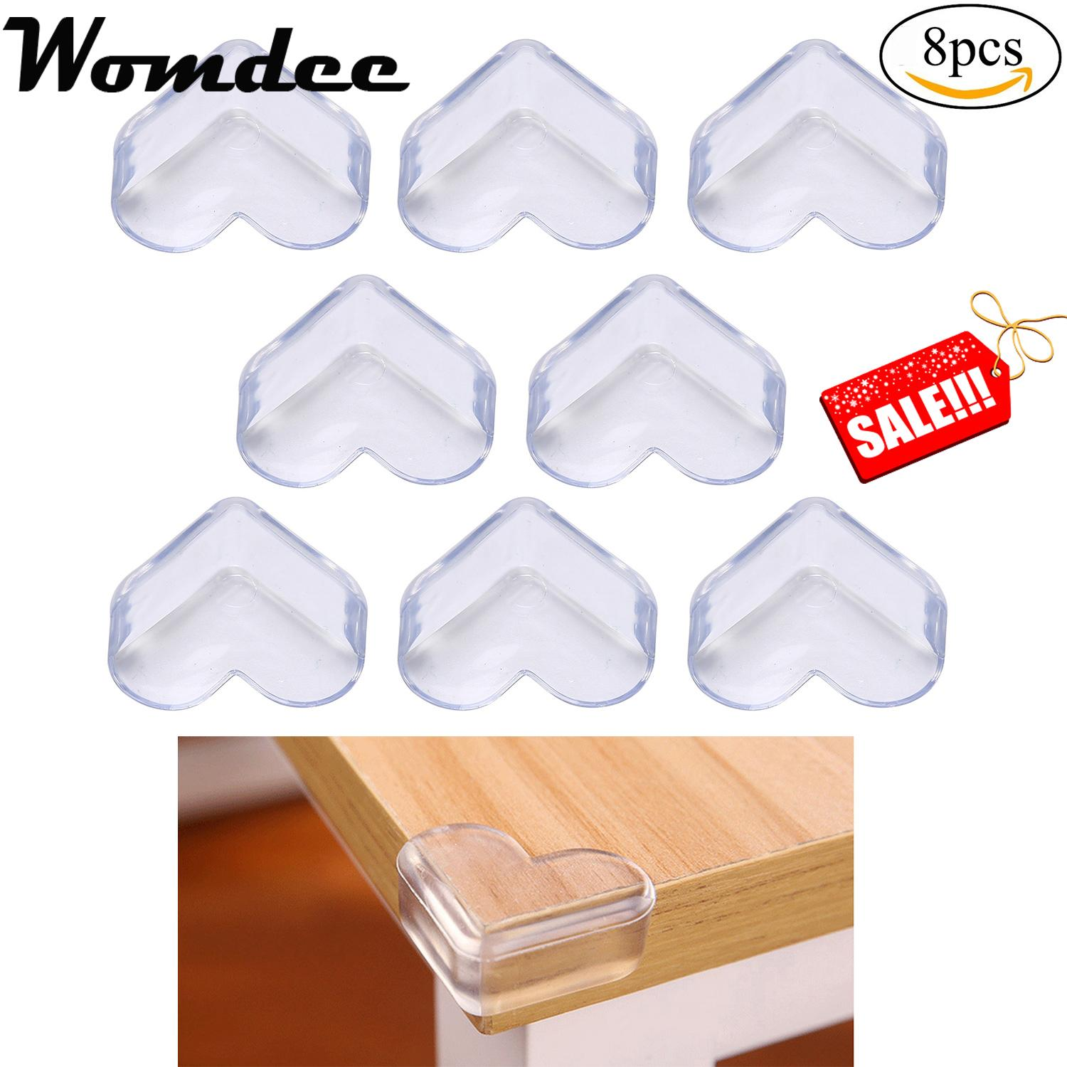 Womdee Soft Proofing Corner Guards, Clear Edge Proof Protectors Table  Bumpers Cover Furniture, Sharp