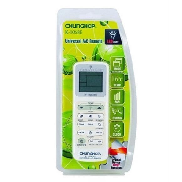Price Chunghop K 1068E Universal Aircon Remote Controller Daikin Sanyo Samsung Sharp Fujitsu Lg National Toshiba Chunghop Online