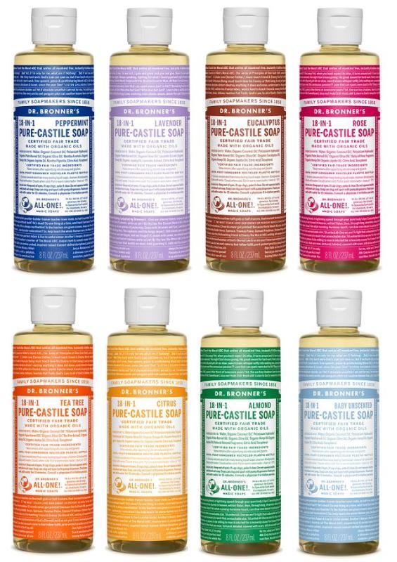 Buy Dr Bronners Organic Magic Castile Soap 237ml Singapore