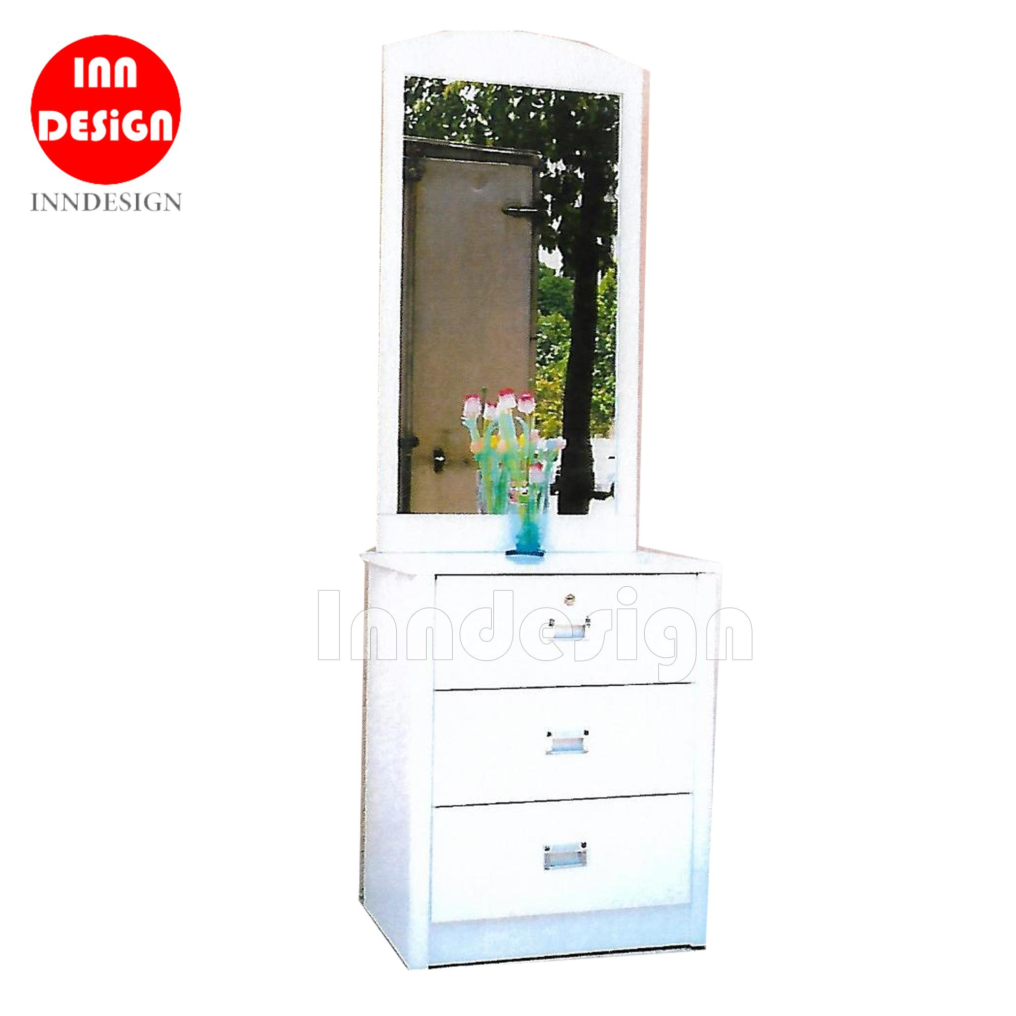 Zuara White Dressing Table With Drawers