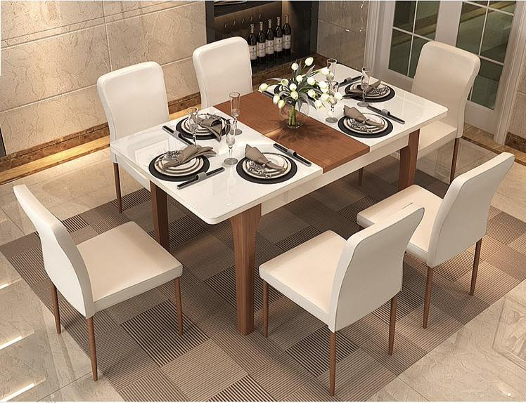 Jiji Memoir Extendable Dining Table (free Installation) - Brown / Dining Table (sg) By Jiji.
