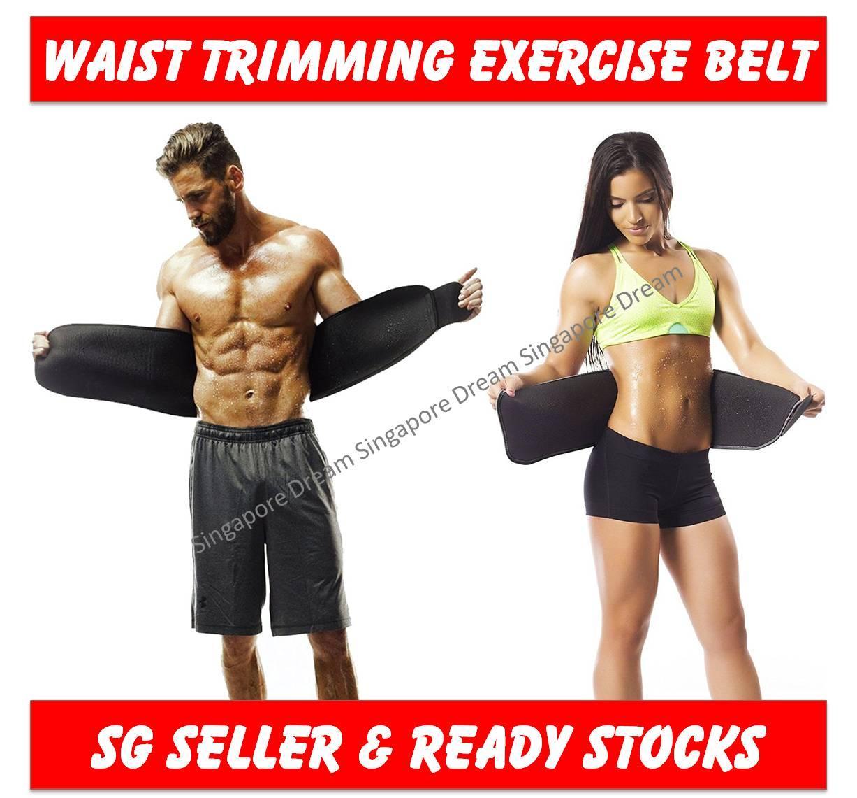 ad5971cc49d Sweat Waist Trimmer Belt   Slim Slimming Lift Body Corset Shirt Sports  Sauna Tummy For Men