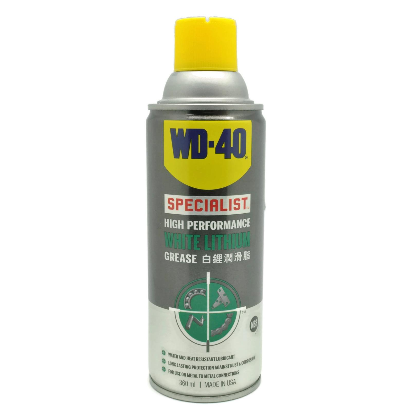 Sale Wd40 Wd 40 Specialist High Performance White Lithium Grease Online On Singapore