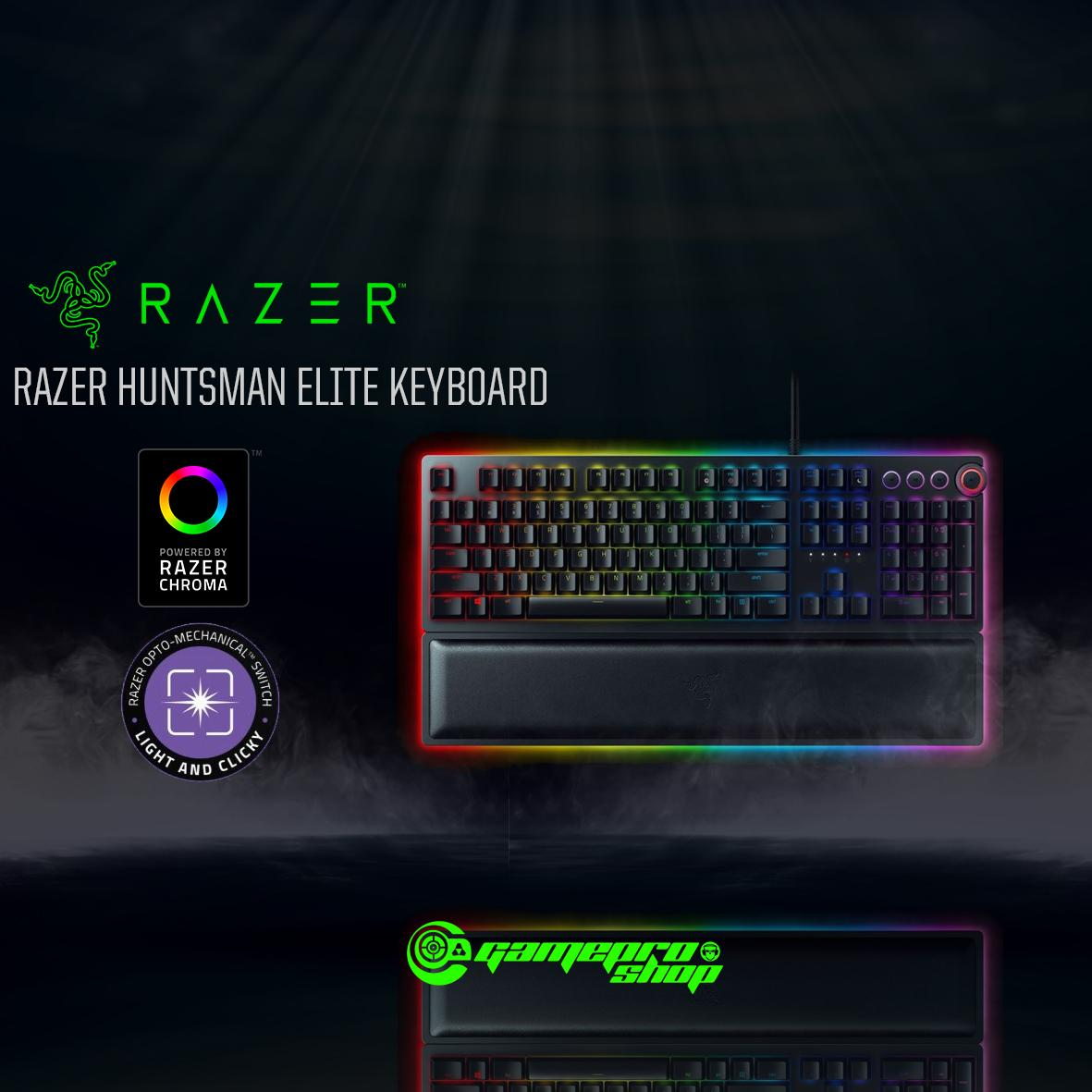 197a37cf875 Singapore. Razer Huntsman Elite OPTO - Mechanical Gaming Keyboard *GSS  PROMO*