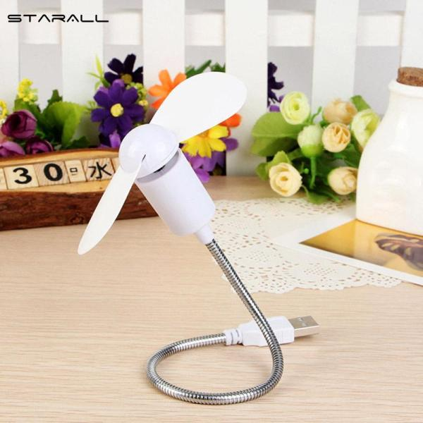 StarALL USB Mini Small Fan Cooling Flexible Portable Cooler For Laptop Desktop Computer PC