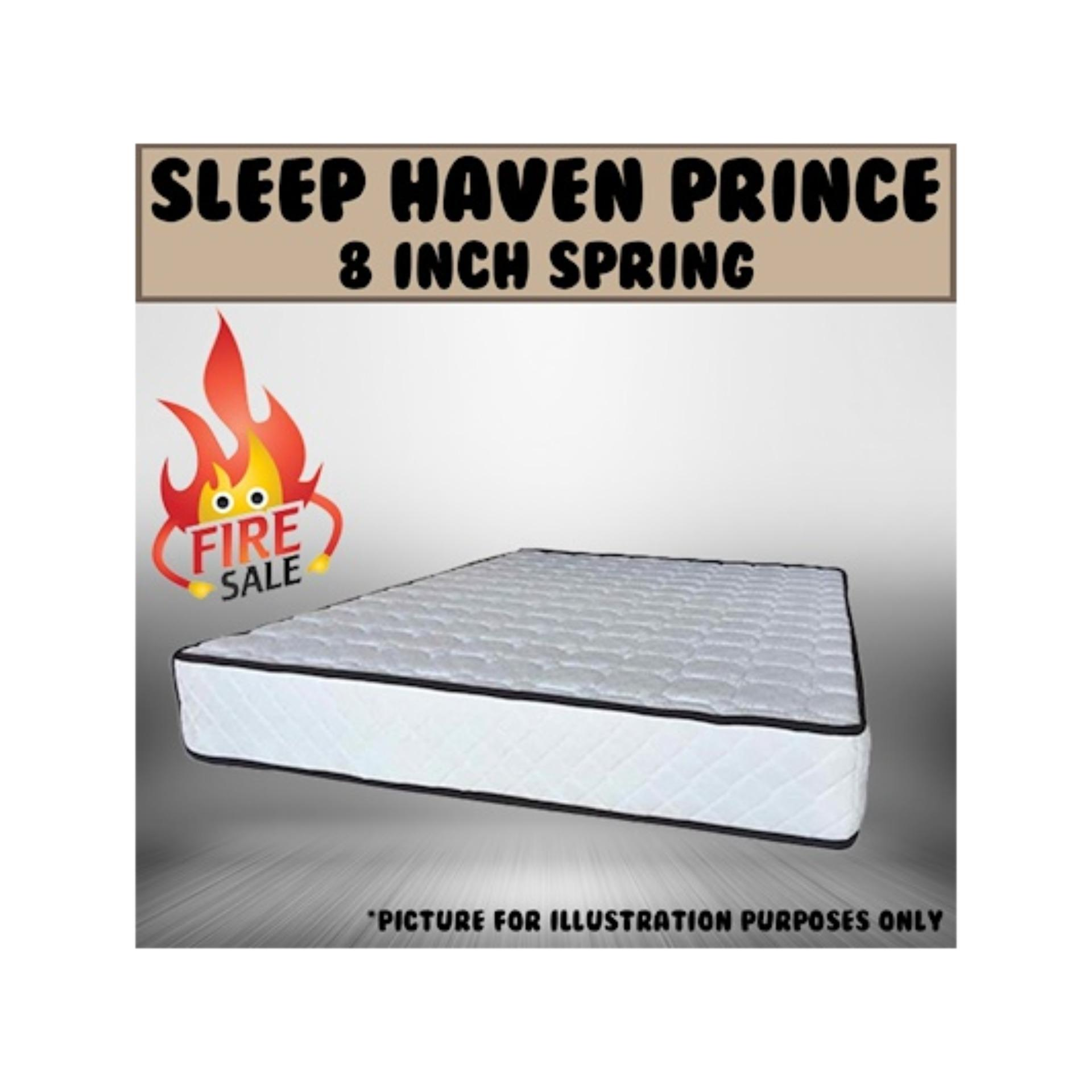 Sleep Haven Prince 8 Bonnell Spring Mattress  Free Delivery