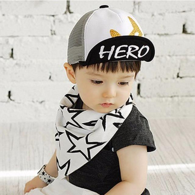 3ad194a1e365f Unisex Visors Sun Hat Spring Summer Baby Hat Kids Cute Fox Baseball Cap  Palm Baby Boys