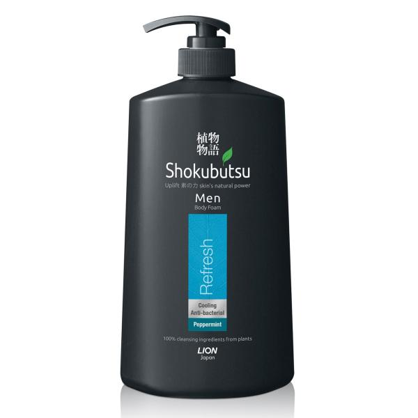 Buy Shokubutsu Men Body Foam (Refresh), 900ml Singapore