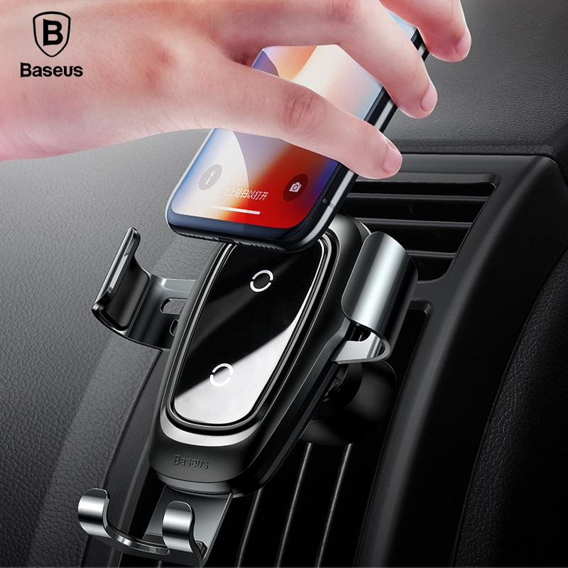 Baseus Metal Gravity Wireless Charging Charger Car Mount Phone Holder (gen 2) By Airdrop Tech.