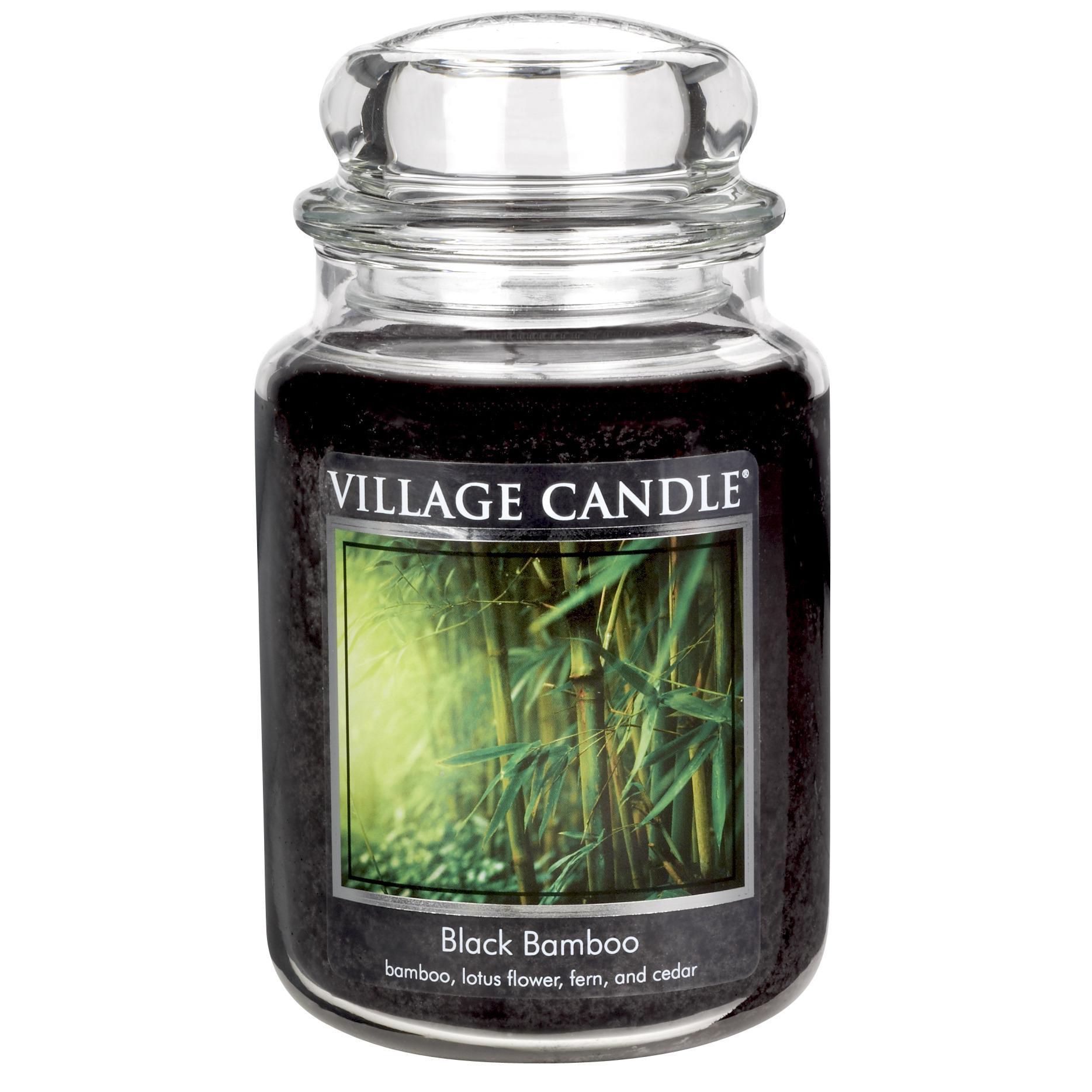 Black Bamboo Candle 26oz
