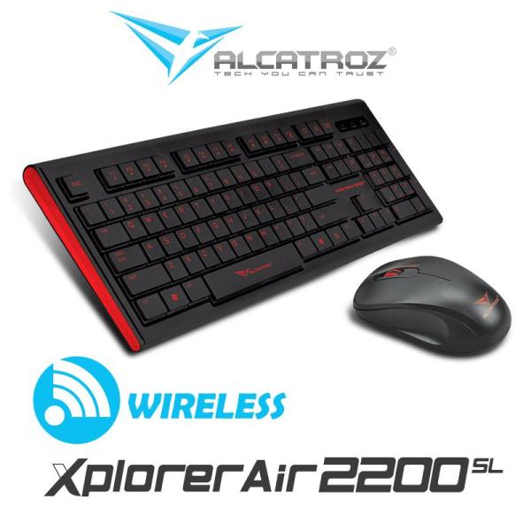 Wireless keyboard and mouse Combo Xplorer Air 2200SL Series Singapore