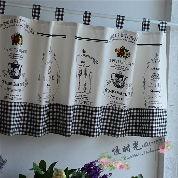 Cotton Linen Japanese Style Kitchen Partition