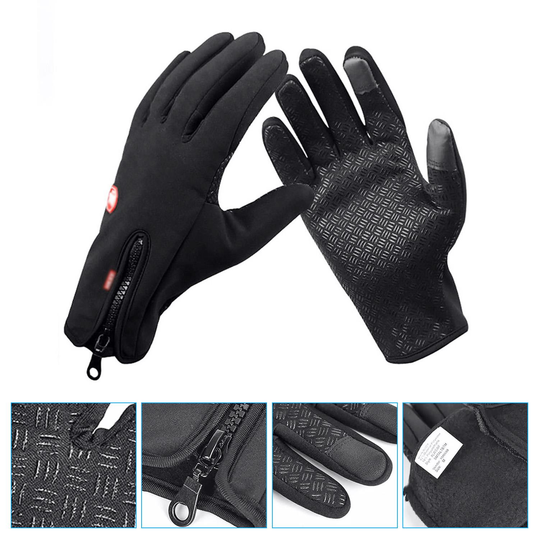 eaff66c58 Winter Touch Screen Gloves Windproof Waterproof Outdoor Sport Driving  Gloves for Men   Women