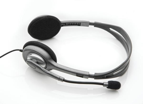 Logitech H111 Stereo Headset with Adjustable Headband, Single 3.5 Jack For Notebooks, Mobile Phones, Tablets Singapore