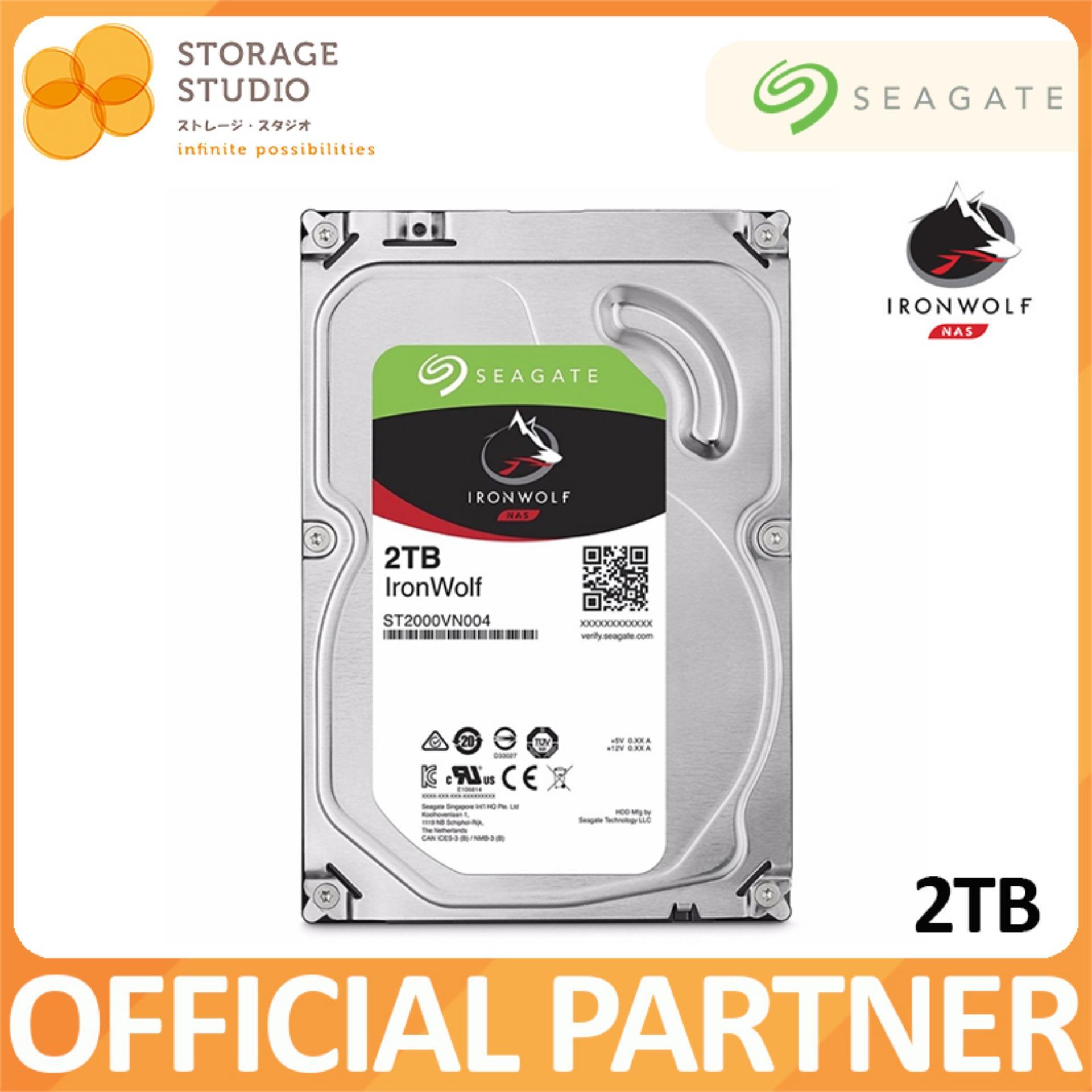 Buy Seagate 2Tb Ironwolf Nas Hard Disk 3 5Inch Hard Disk On Singapore