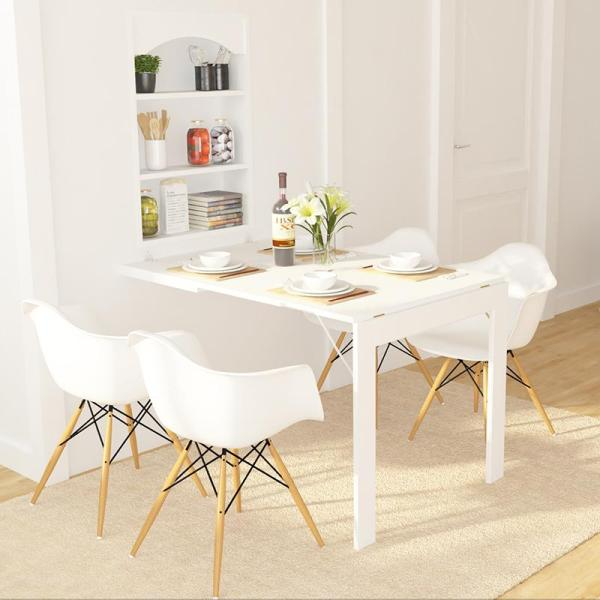 [SG Seller] Best Selling Convertible/Foldable Wall Mounted Dining Table. Space Saver!