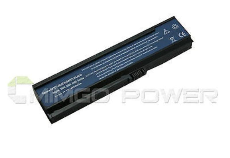 6 Cell Laptop Replacement Battery for ACER Aspire 5570Z 5572 5573 5575 5580 5583