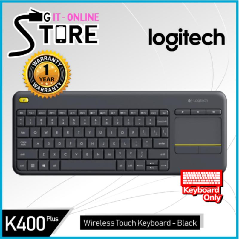 Logitech K400 Plus Black/White Singapore