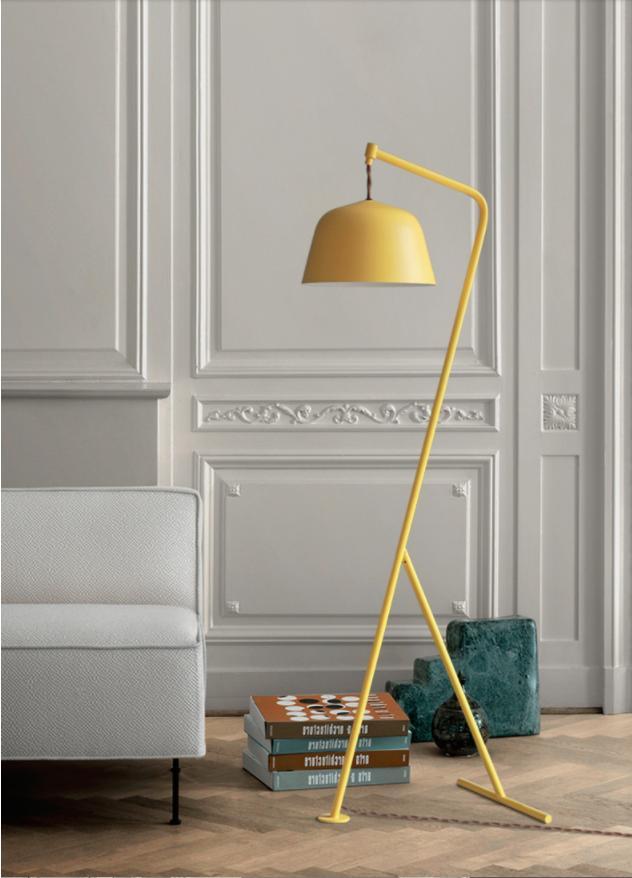 Modern Simplified Decorative Vertical Floor Lamps Standing Staande Lamp Led Nordic Floor Lamps for Living Room
