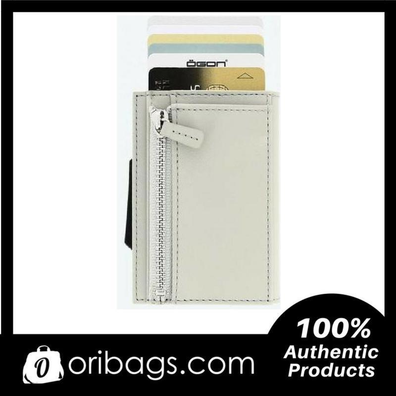 OGON Cascade Zipper Wallet Rfid Safe - Grey