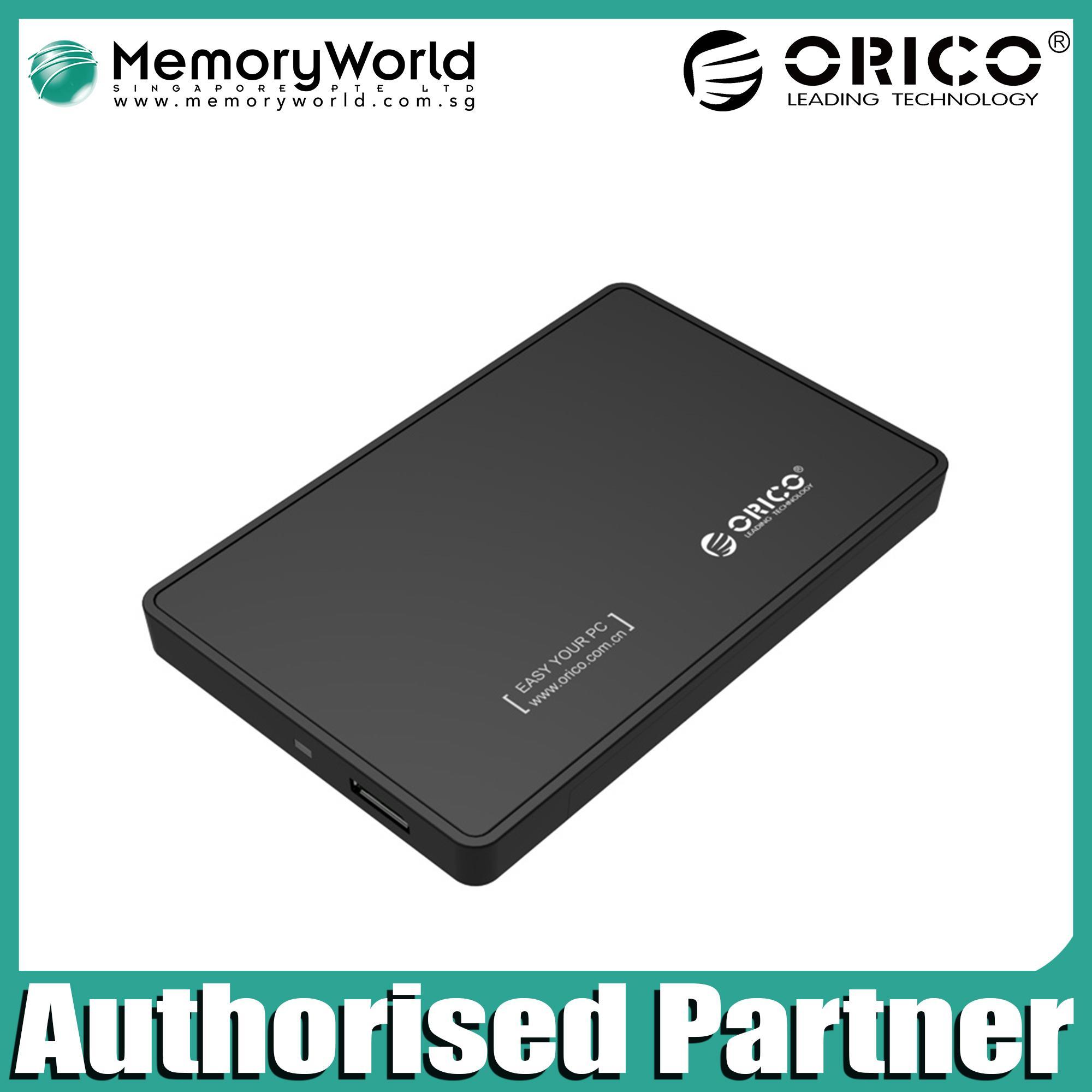 Latest Orico External Hard Drives Products Enjoy Huge Discounts 1 Bay 25 Inch Hdd Enclosure Sata 2 Usb 30 2599us3 V1 Casing Hardisk Usb30 Drive 2588us3