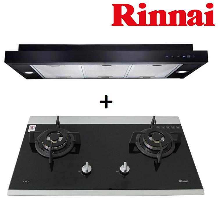 Rinnai Rh S319 Pbr T Slimline Hood Rb 7502Dg 2 Burner Glass Hob Best Buy