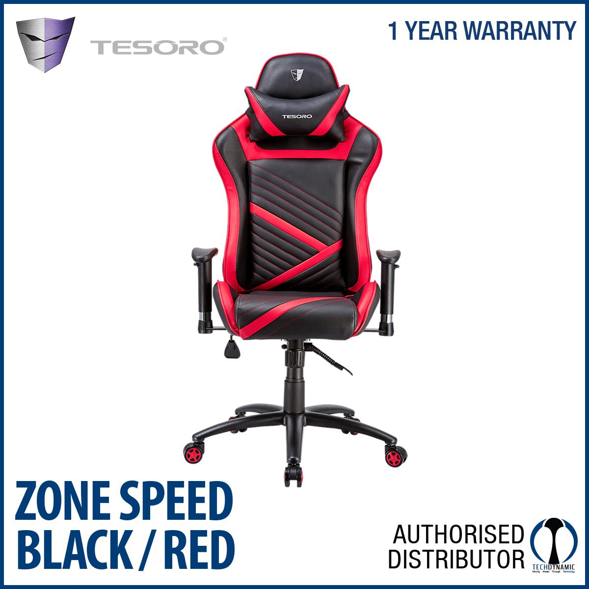 TESORO ZONE SPEED CHAIR ( 3 COLOURS OPTIONS)