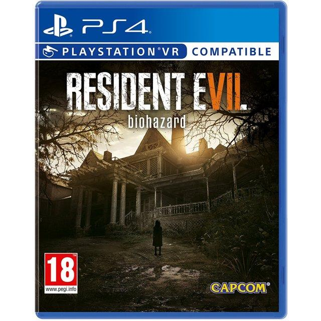 Sale Ps4 Resident Evil 7 Biohazard Eur R2 Cusa 03842 Ps4 Original