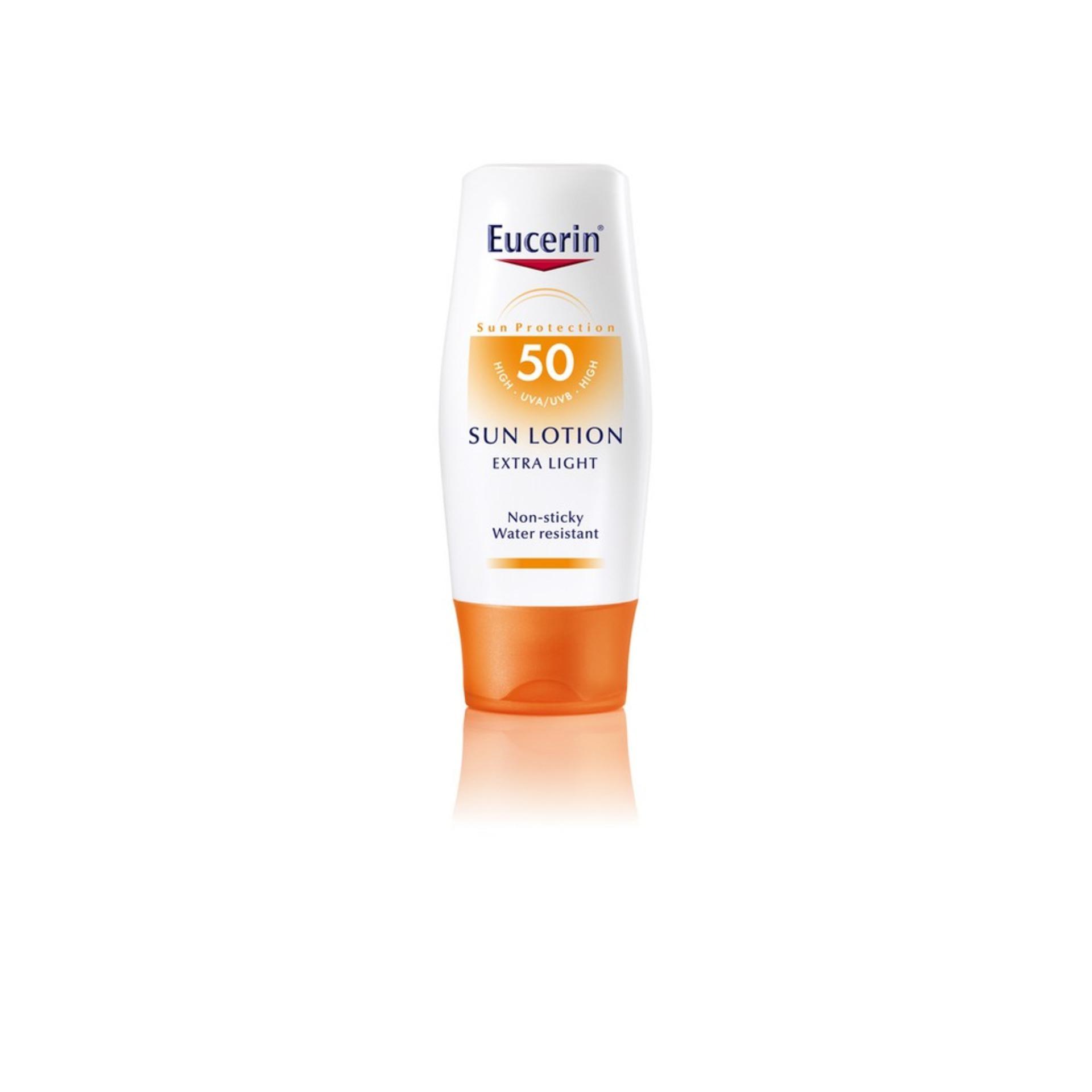 Eucerin Sun Care Unisex Sun Body Lotion Extra Light Spf50 150ml By Eucerin Official Shop.