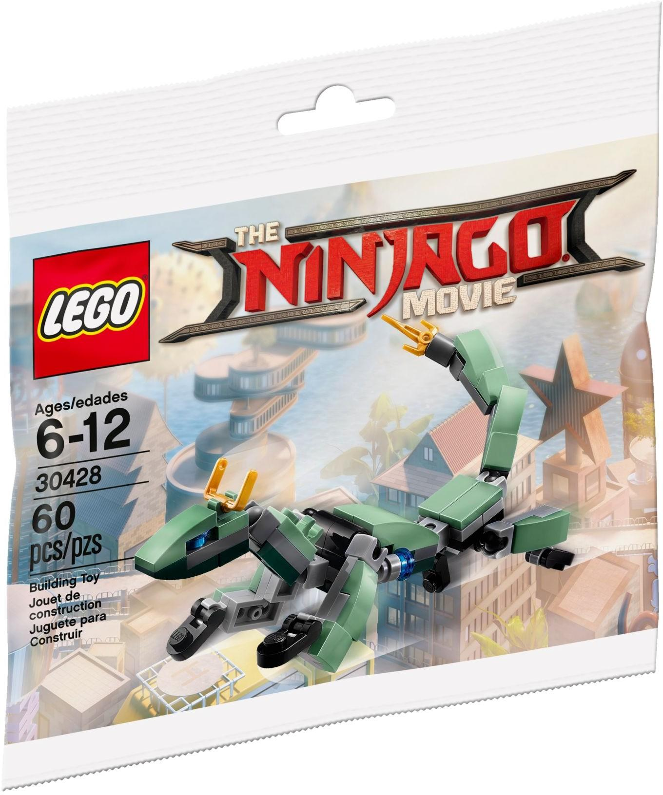 Lego Ninjago Movie 30428 Green Ninja Mech Dragon Polybag By Xrebirthed.