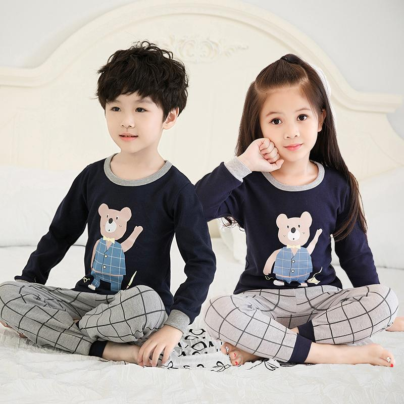Big Kids Pyjamas /children Family Couple Pyjamas Set Up To Size 180cm Boys [pjn10] By Jolly Sg.