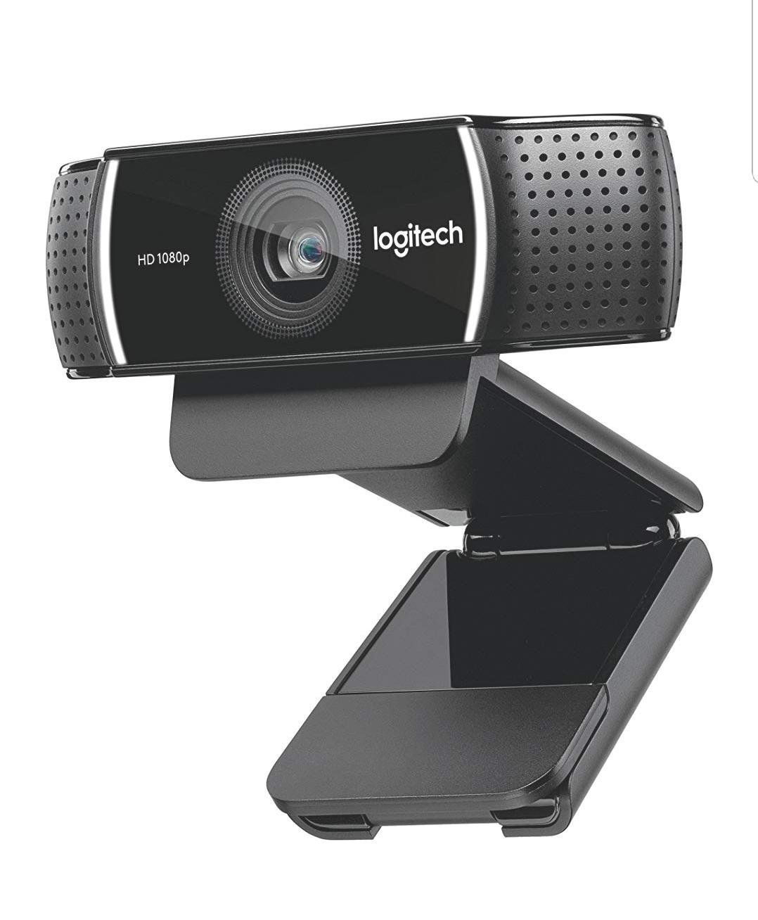 Logitech C922x Pro Stream Webcam 960-001176 – Full 1080p HD Camera – Background Replacement Technology for YouTube or Twitch Streaming