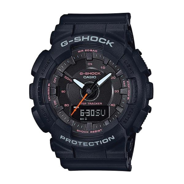 Best Reviews Of Casio G Shock S Series Step Tracker Black Resin Band Watch Gmas130Vc 1A Gma S130Vc 1A