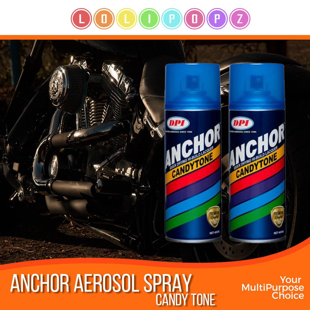 DPI Anchor Aerosol Spray Paint - Premium B* (CandyTone & Special Color)