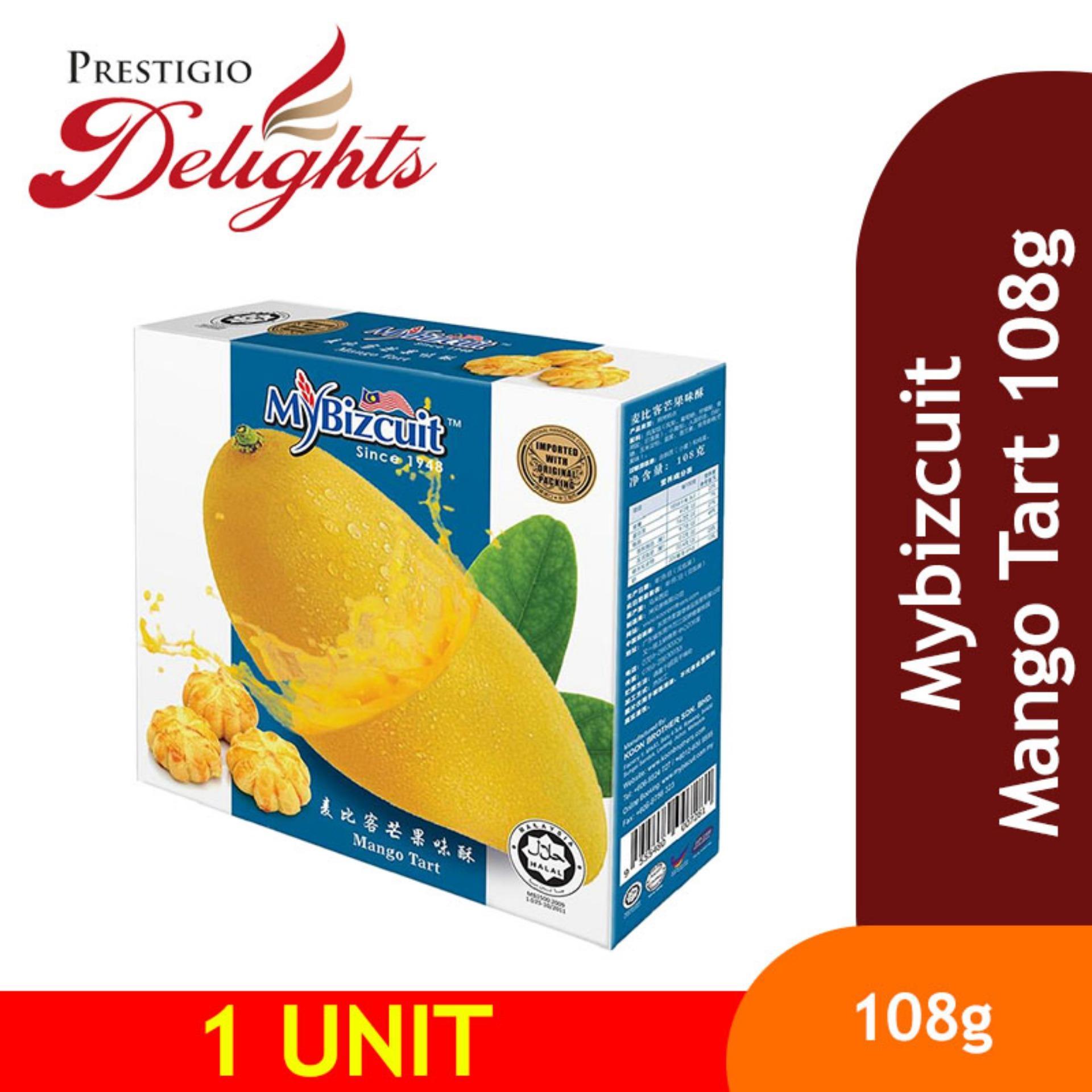 Mybizcuit Mango Tart 108g By Prestigio Delights.