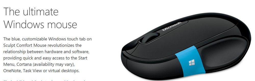 25bde6f6953 Microsoft Sculpt Comfort Mouse: Buy sell online Basic Mice with ...