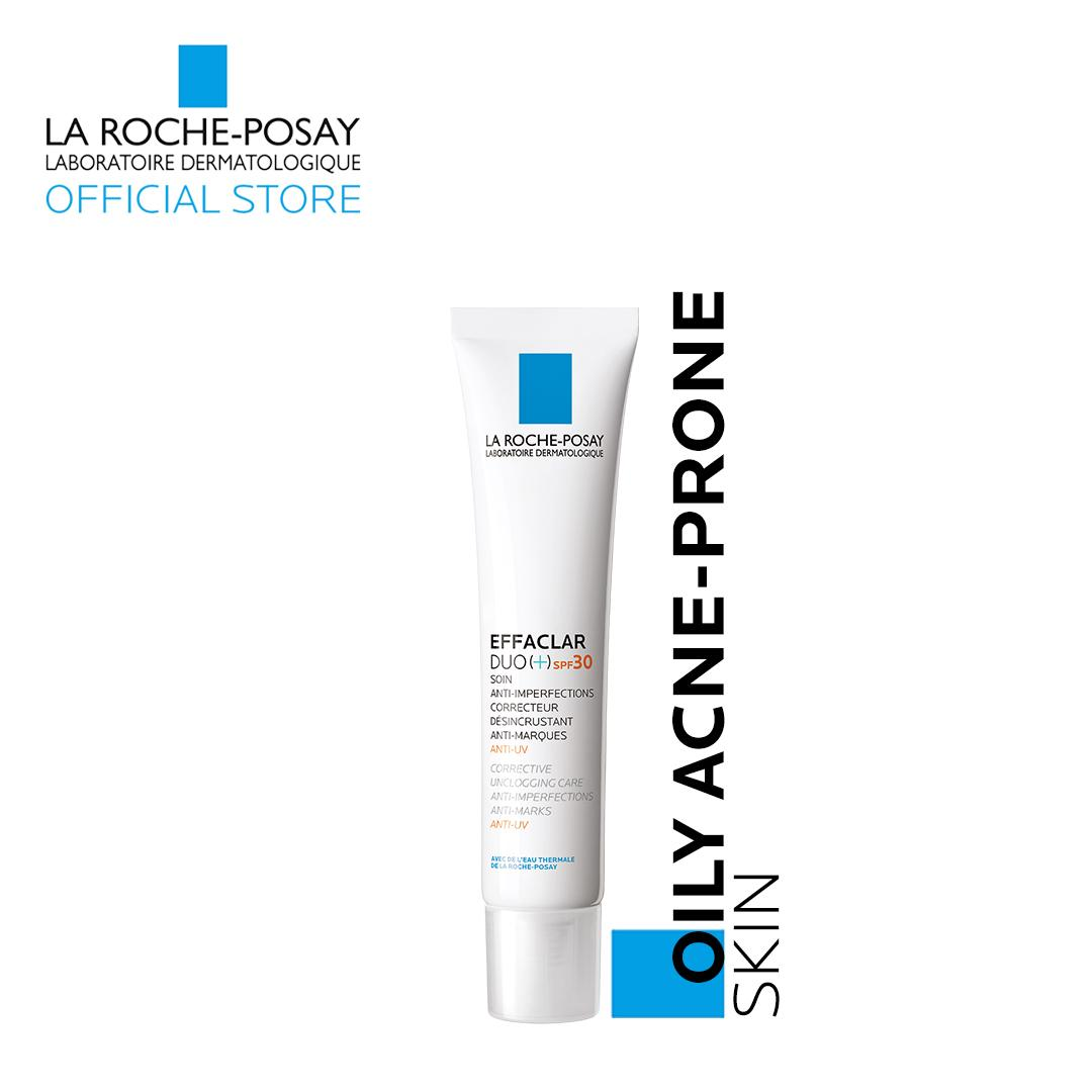Effaclar Duo (+) Spf 30 [oily, Acne-Prone Skin] 40ml By La Roche-Posay By La Roche-Posay Official Store.