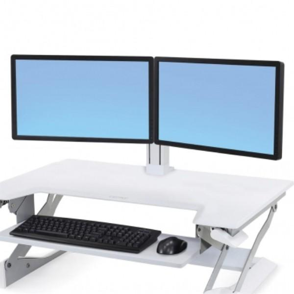 Ergotron WorkFit Dual Monitor Kit (white)