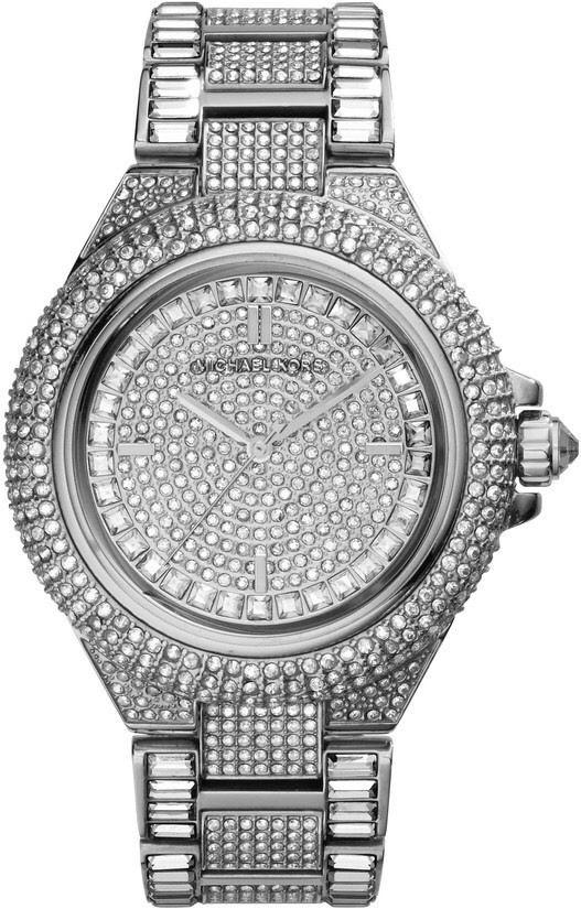 Michael Kors Camile Crystal Pave Dial Crystal Encrusted 43mm Ladies Watch Mk5869 By Watch Centre.