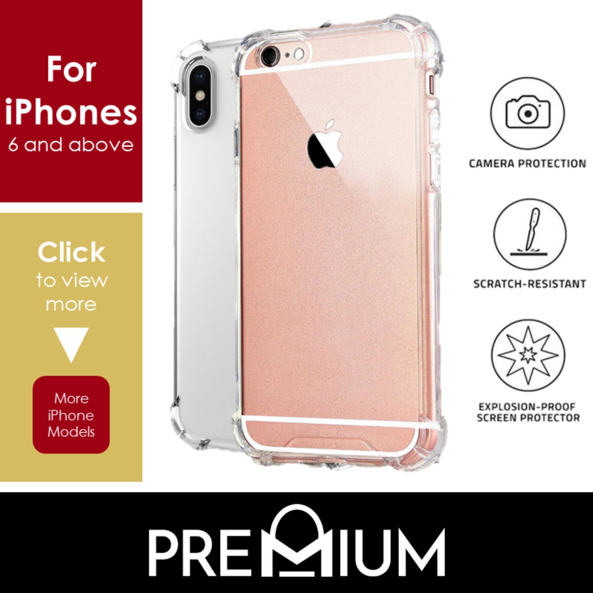 97985e4de2 Singapore. Anti Shock Tough Armor Slim Flexible Transparent Case Casing  Cover Phone Cases For iPhone Xs Max