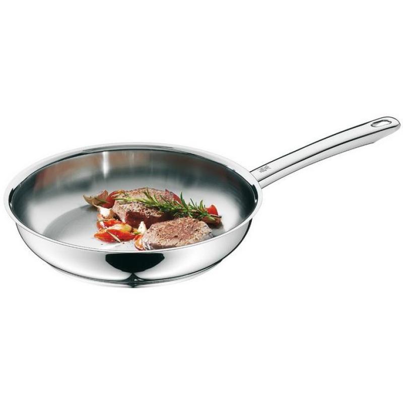 Germany Origional Product WMF 28 Cm Stainless Steel Flat-bottom Pot Frying Pan Non-stick Pot Non-Stick Pan Singapore