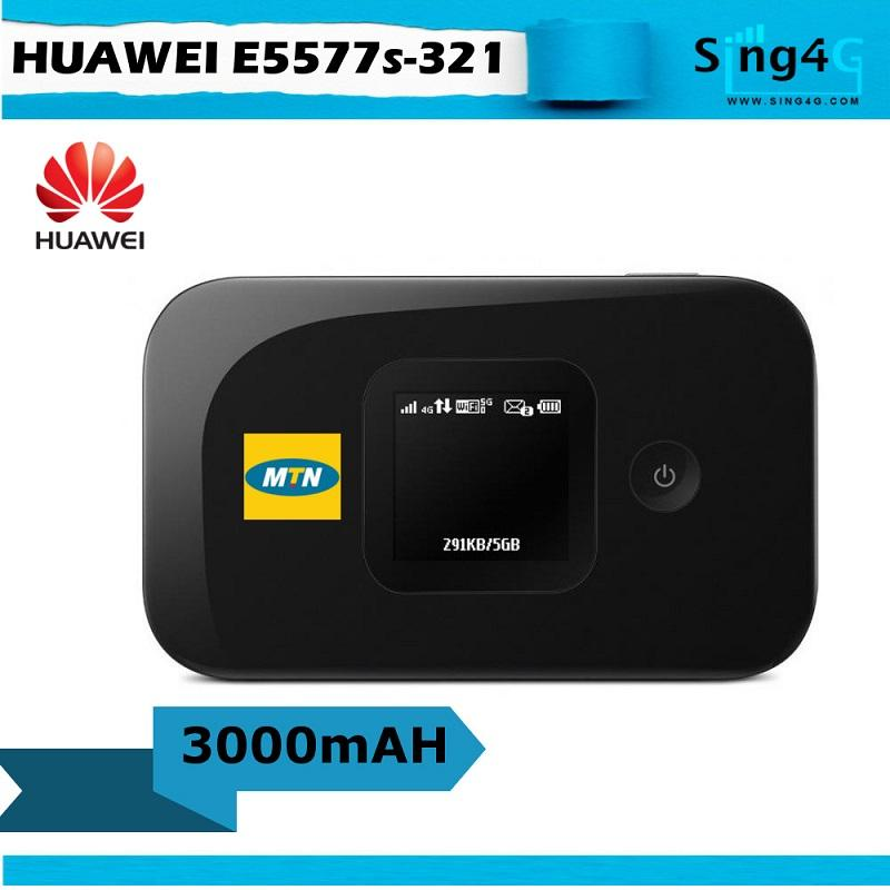 How To Buy Huawei E5577 Mtn 3000Mah Extend Battery 4G Mifi Portable Hotspot
