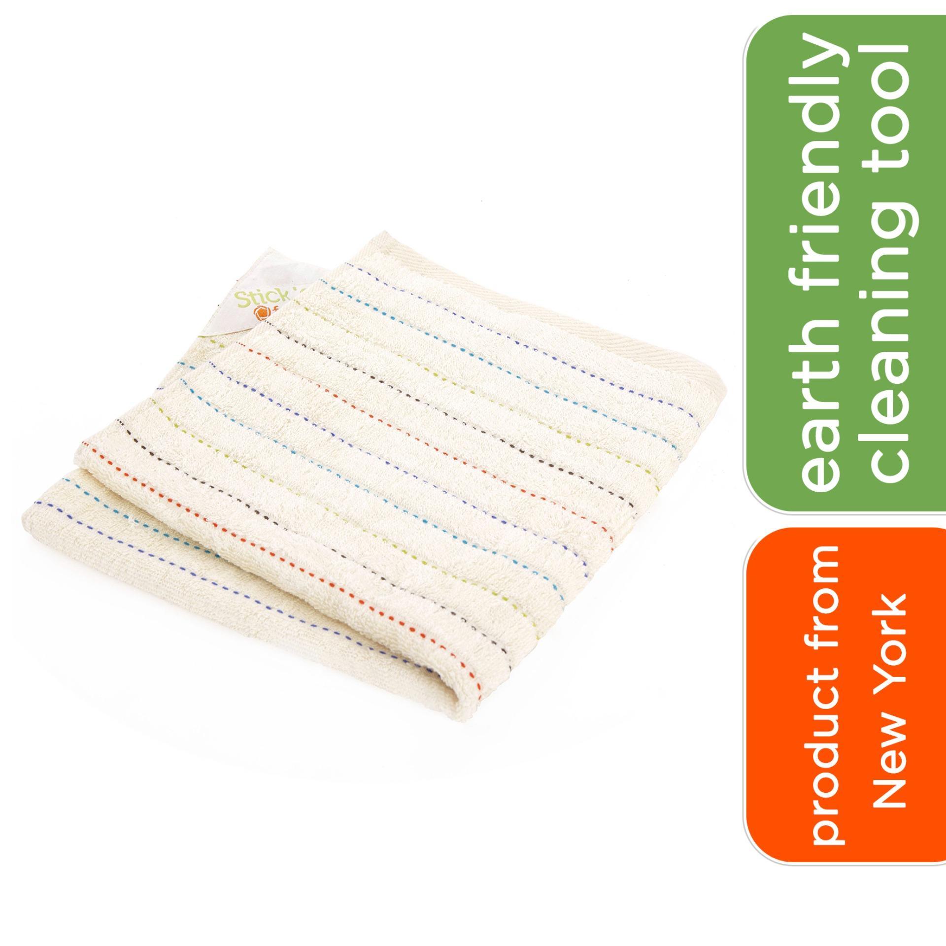 Full Circle Stick 'em Magnet Kitchen Towel - Beige By Corlison.