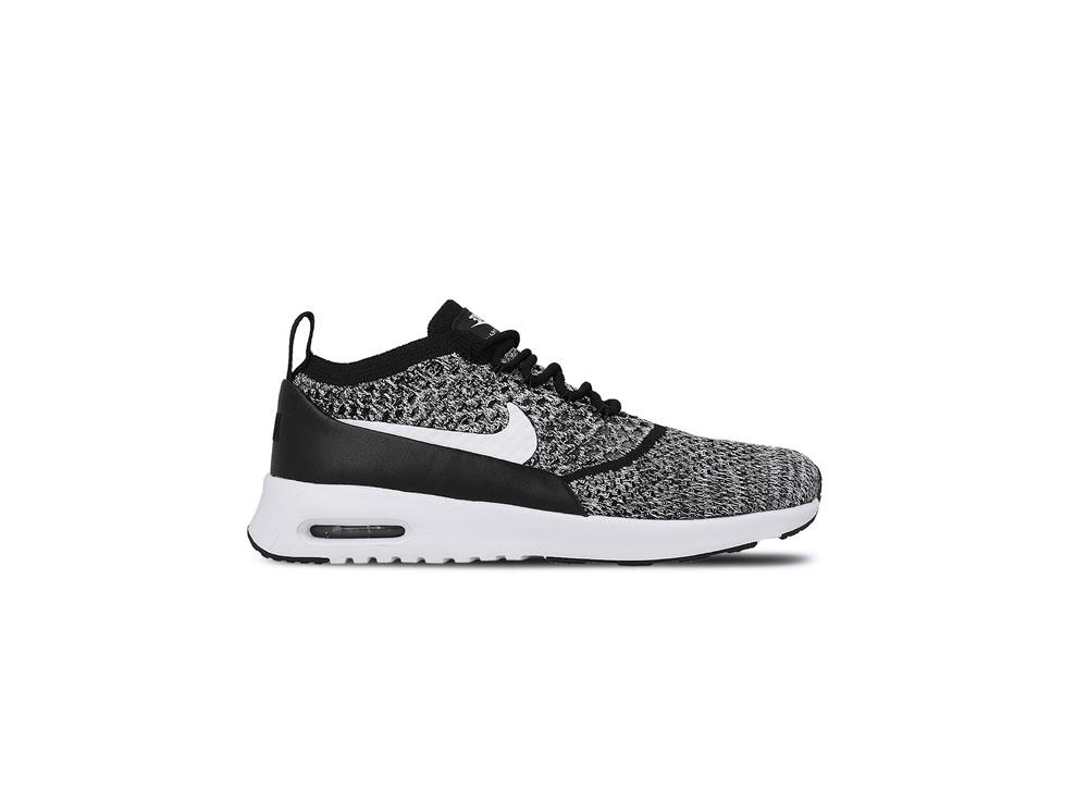 finest selection 8e184 162b4 Nike Wmns Air Max Thea Ultra Flyknit 881175-001 Black White