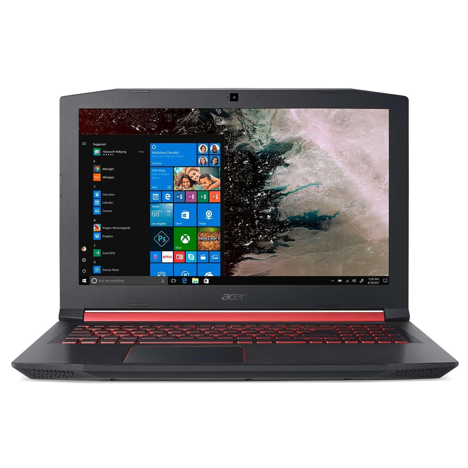 ACER AN515-52-70QH (BLACK) 15.6 IN INTEL CORE I7-8750H 16GB 1TB + 256GB SSD WIN 10
